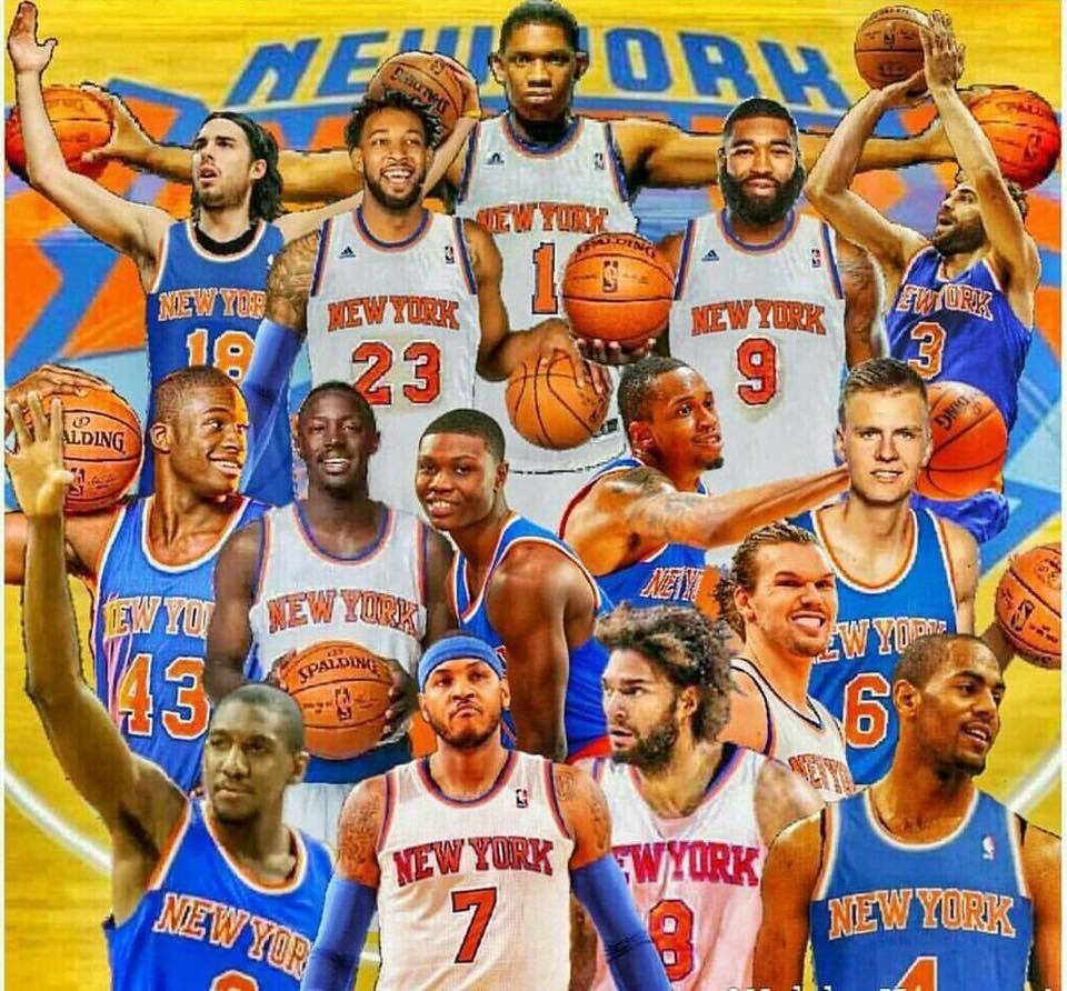 2015 - 2016 Knicks Squad