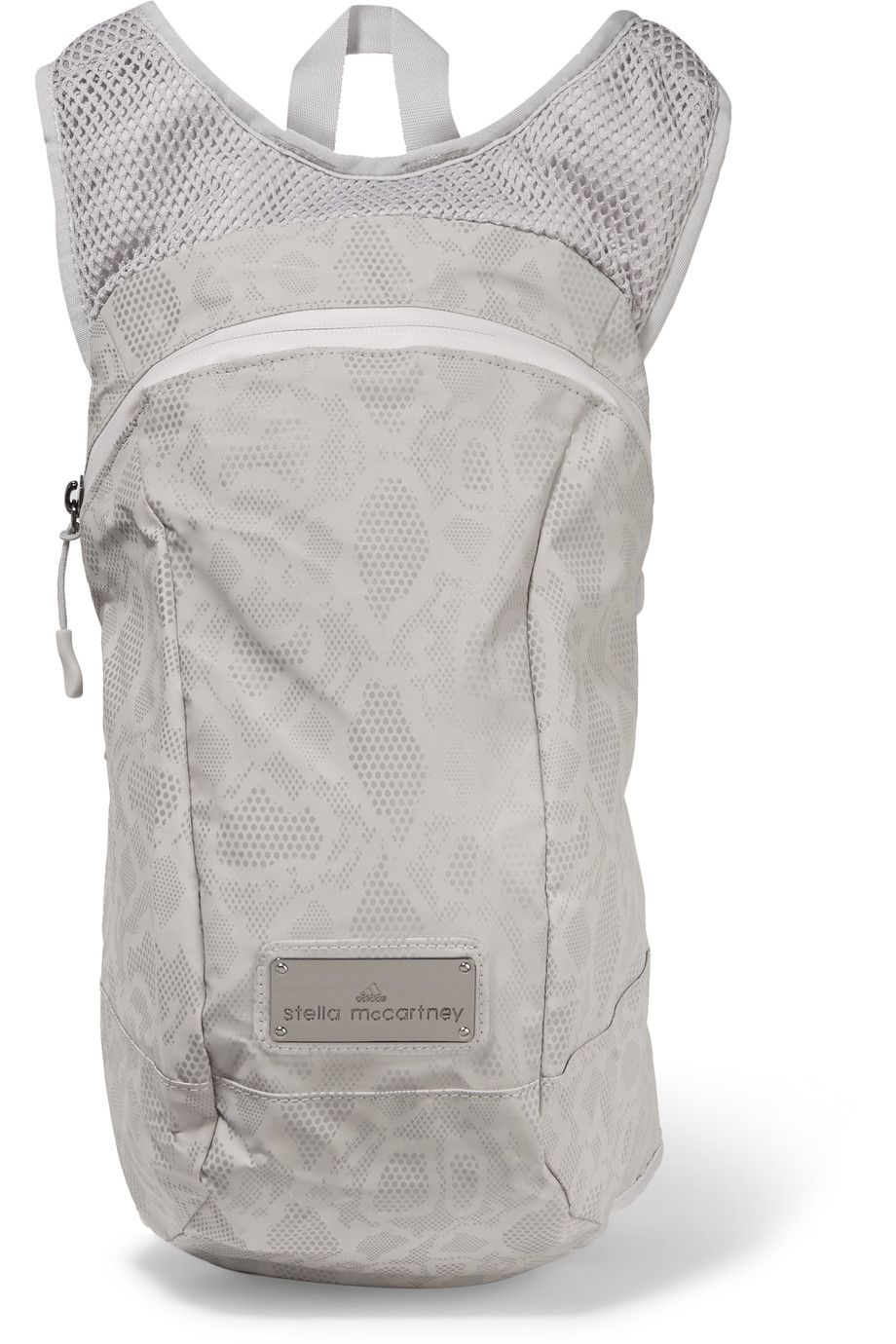 e213494bfaf0 ADIDAS BY STELLA MCCARTNEY Reflective Shell And Mesh Backpack.   adidasbystellamccartney  bags  canvas  backpacks  stone
