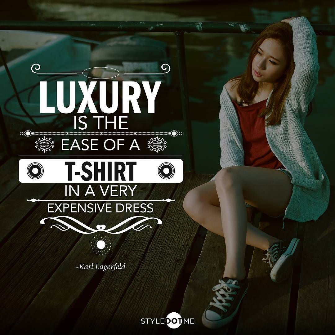 Do you all agree with this? The head designer and creative director of Chanel sure thinks so   #HTers #HashTags #beautyful #clothes #cool #cute #fashion #fashionable #fashionblog #fashiondaily #fashionlove #ideas #instacool #instafit #instastyle #like4like #nicht #outfits #outfitshare #outfitshot #outfitstyle #seasonal #styleaddict