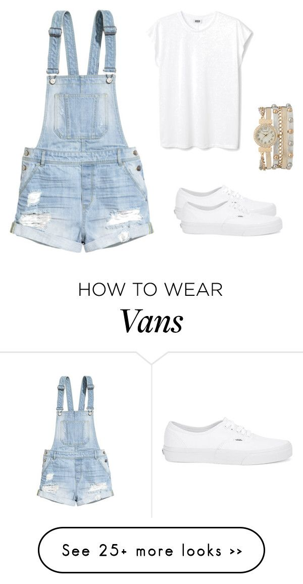 """""""Bez naslova #21"""" by segmedina on Polyvore featuring H&M, Vans and maurices"""