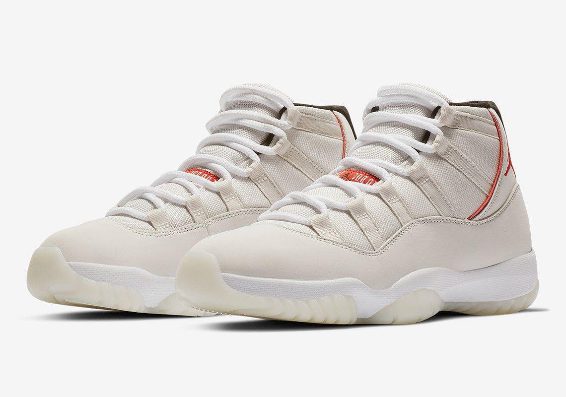 "Men/'s Air Jordan Retro 11 /""Platinum Tint/"" Athletic Fashion Sneakers 378037 016"