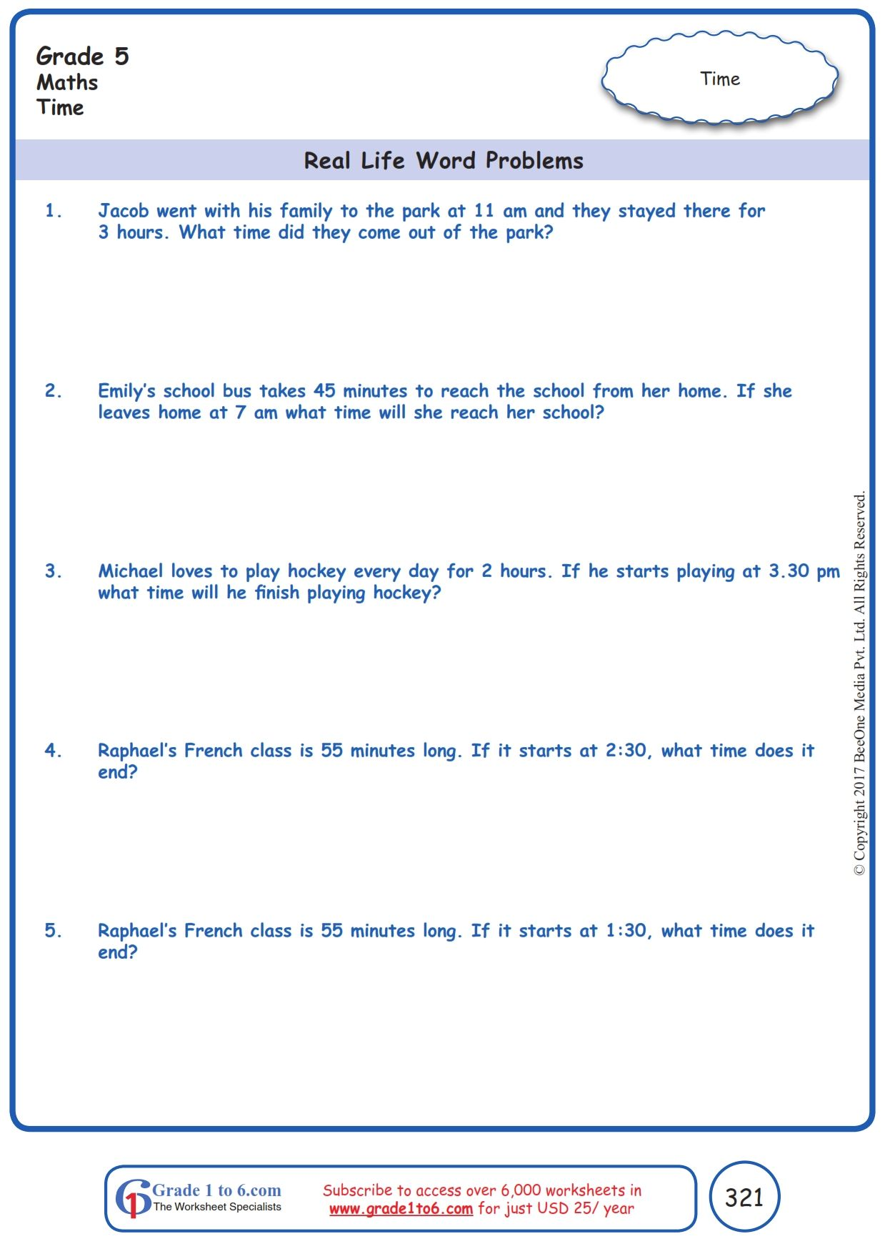 Worksheet Grade 5 Math Real Life Word Problems   Word problem worksheets [ 1754 x 1239 Pixel ]