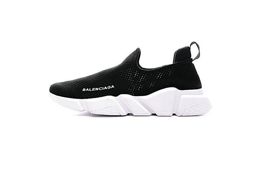 1922d050e5dd Balenciaga Speed Stretch Knit Low Trainer Noir Blanc 454468W05G06000  Authentic Shoe