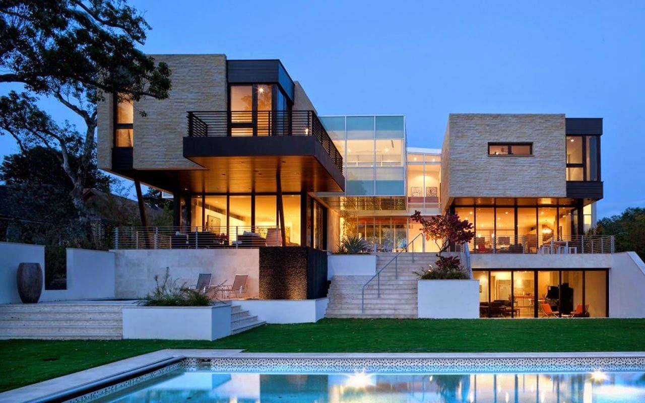 Desain Rumah Mewah Ala Korea Contemporary House Design Architecture House Modern Contemporary Homes Rumah mewah di korea