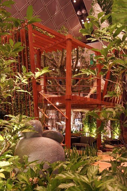 A modern tree house by designer John Tan of Singapore