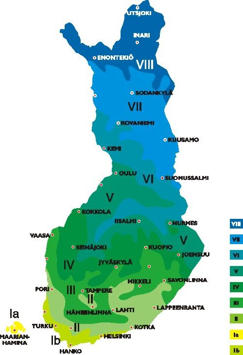 Suomen Kasvillisuusvyöhykkeet