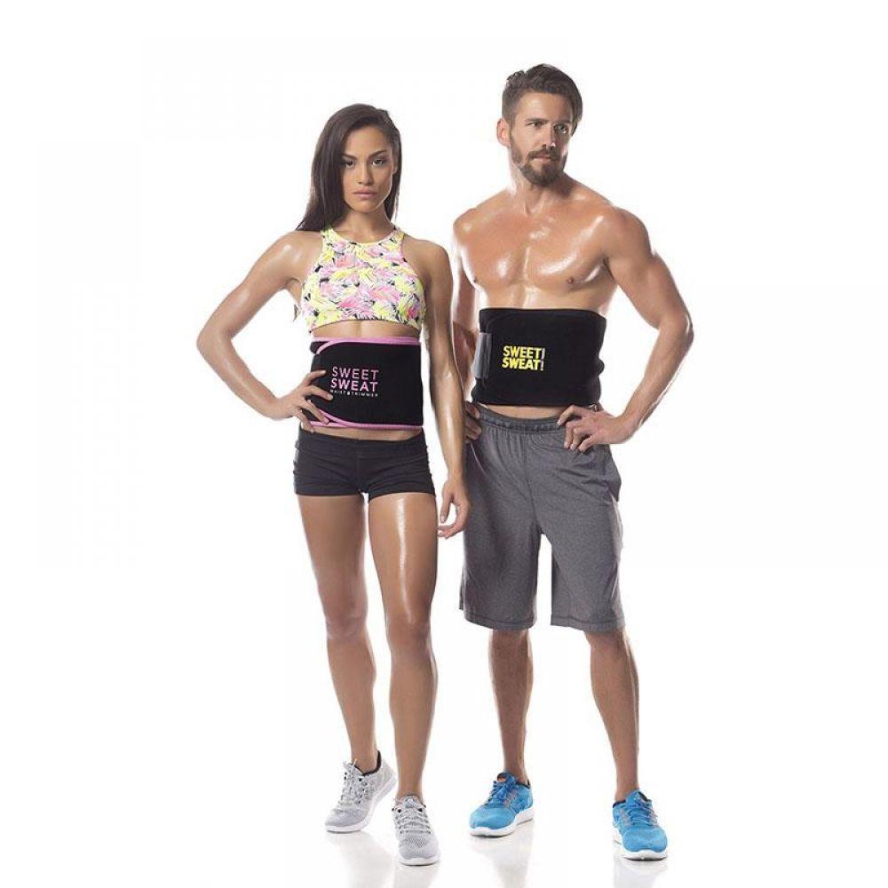 Waist Trainer Cincher Trimmer Sweat Belt Women Men Shapewear Gym Body Shaper LOT