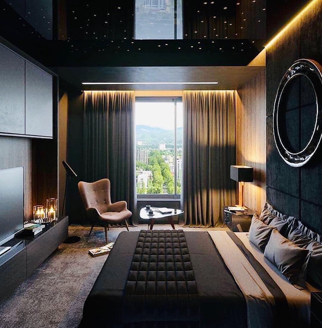 Lieben Sie Die Warmen Farben Dennoch Modernes Schlafzimmer