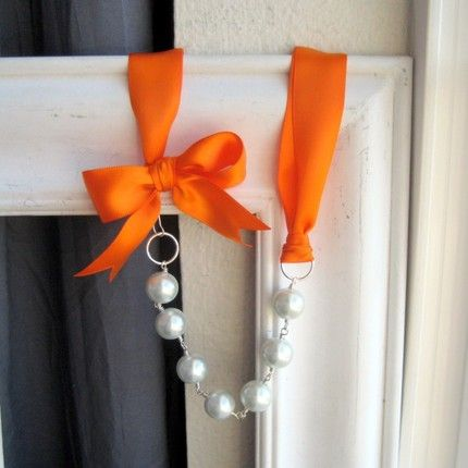 Pearls and ribbons