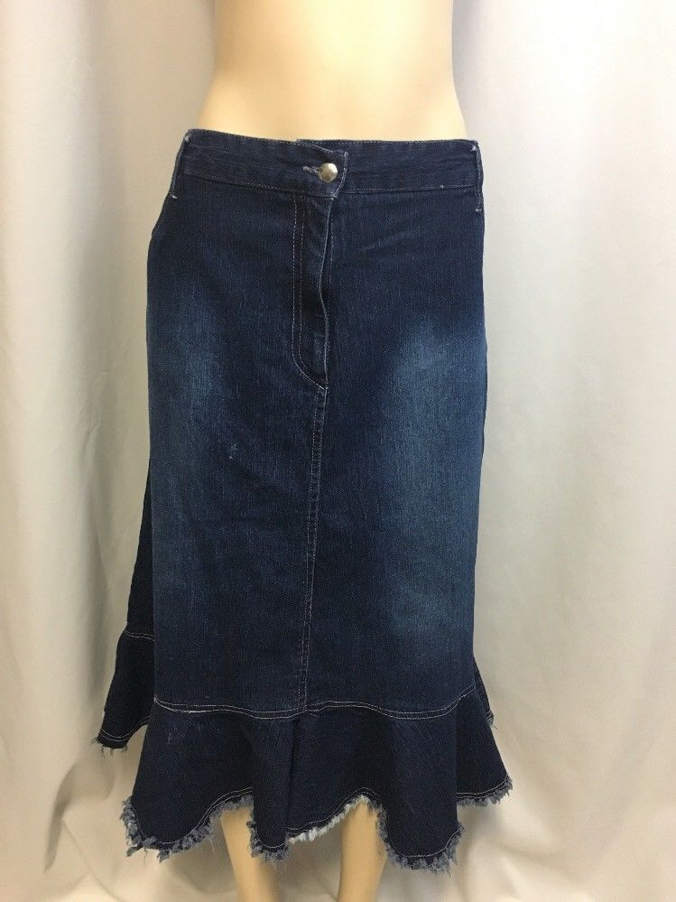 a60415c86f Erica Brooke Plus Size Denim Skirt in Women's size 20 ...