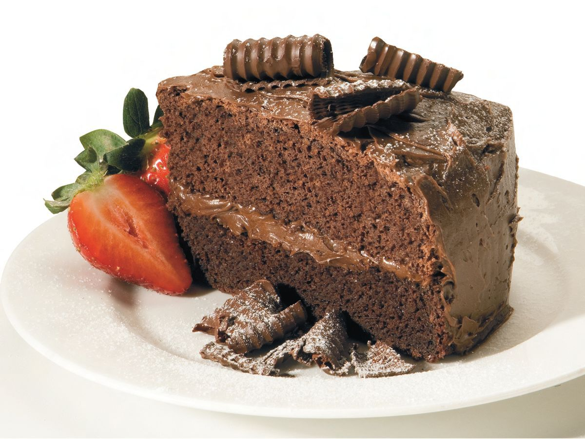 Dark Chocolate Mud Cake, there's no such thing as TOO MUCH ...