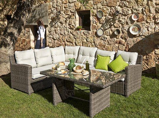 cmo elegir conjuntos de muebles de jardn leroy merlin - Sofas De Jardin Baratos
