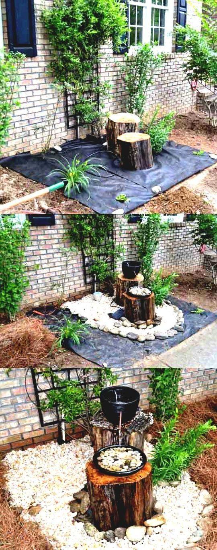 garten gestalten springbrunnen als blickfang im eigenen garten diy wildlife control. Black Bedroom Furniture Sets. Home Design Ideas