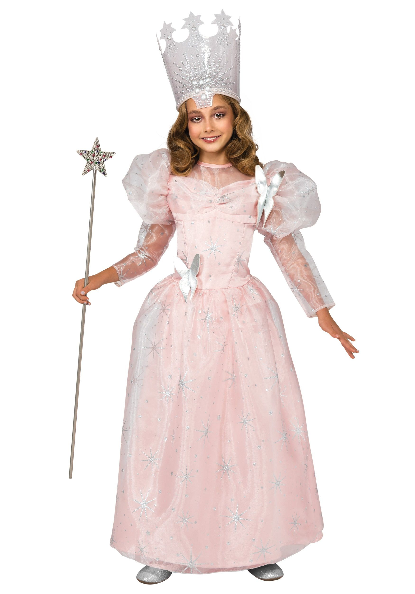 Deluxe Child Glinda the Good Witch Costume | Witch costumes ...