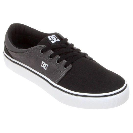 Tênis DC Shoes Trase TX - Preto R  177 096b28090b948