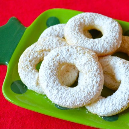 High Altitude Cream Cheese Lemon Wreath Cookie Recipe Favorite