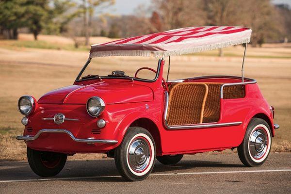 Fiat Jolly La Spiaggina Mit Bildern Fiat 500 Oldtimer