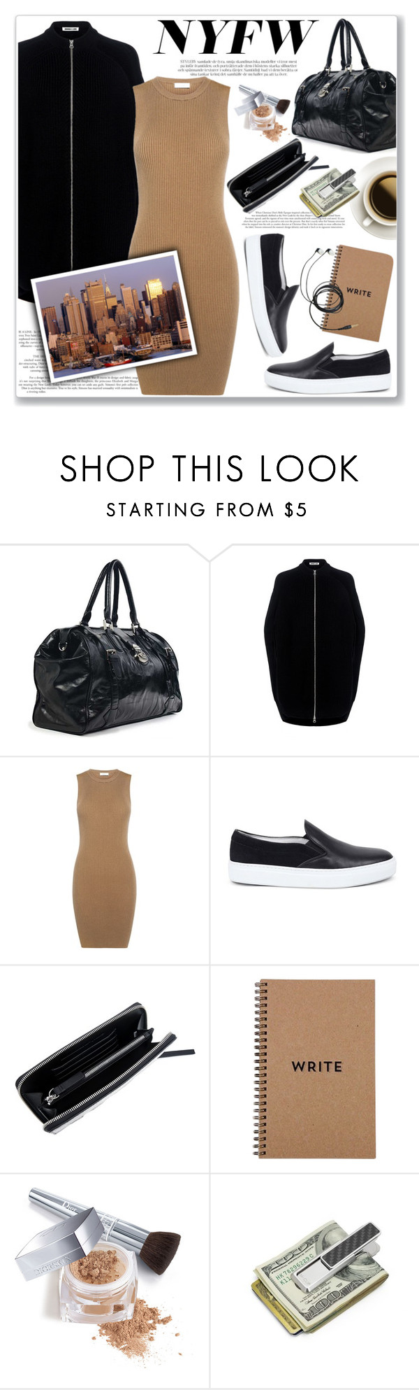 """""""What to Pack: NYFW"""" by ifchic ❤ liked on Polyvore featuring McQ by Alexander McQueen, A.L.C., Amb Ambassadors of minimalism, Christian Dior, M-Clip, NYFW, contestentry, Packandgo and ifchic"""