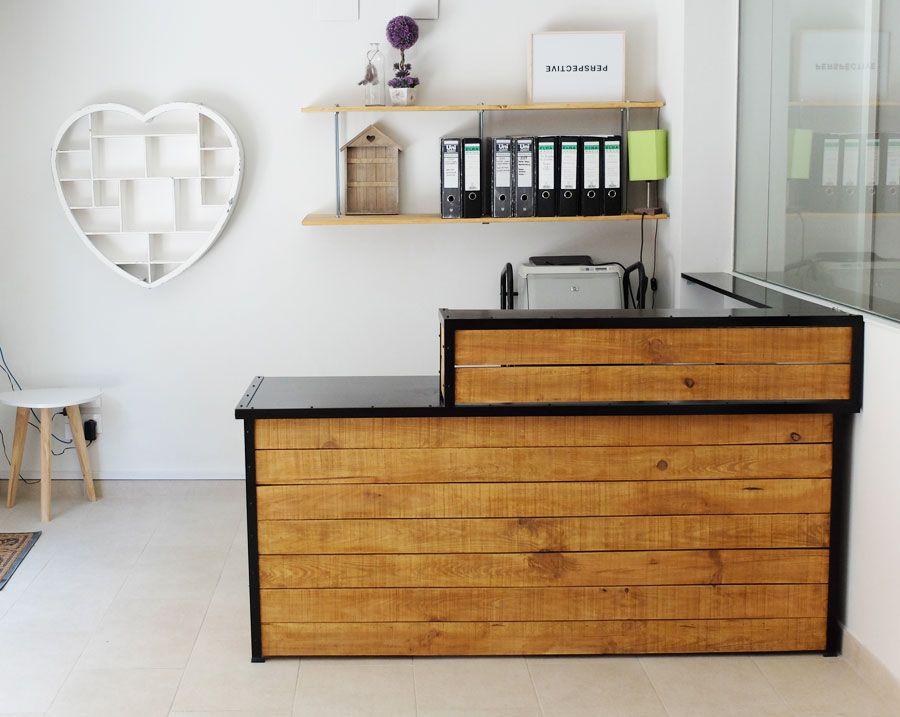 Mostrador madera dise o pinterest mostradores - Mostradores de cocina ...