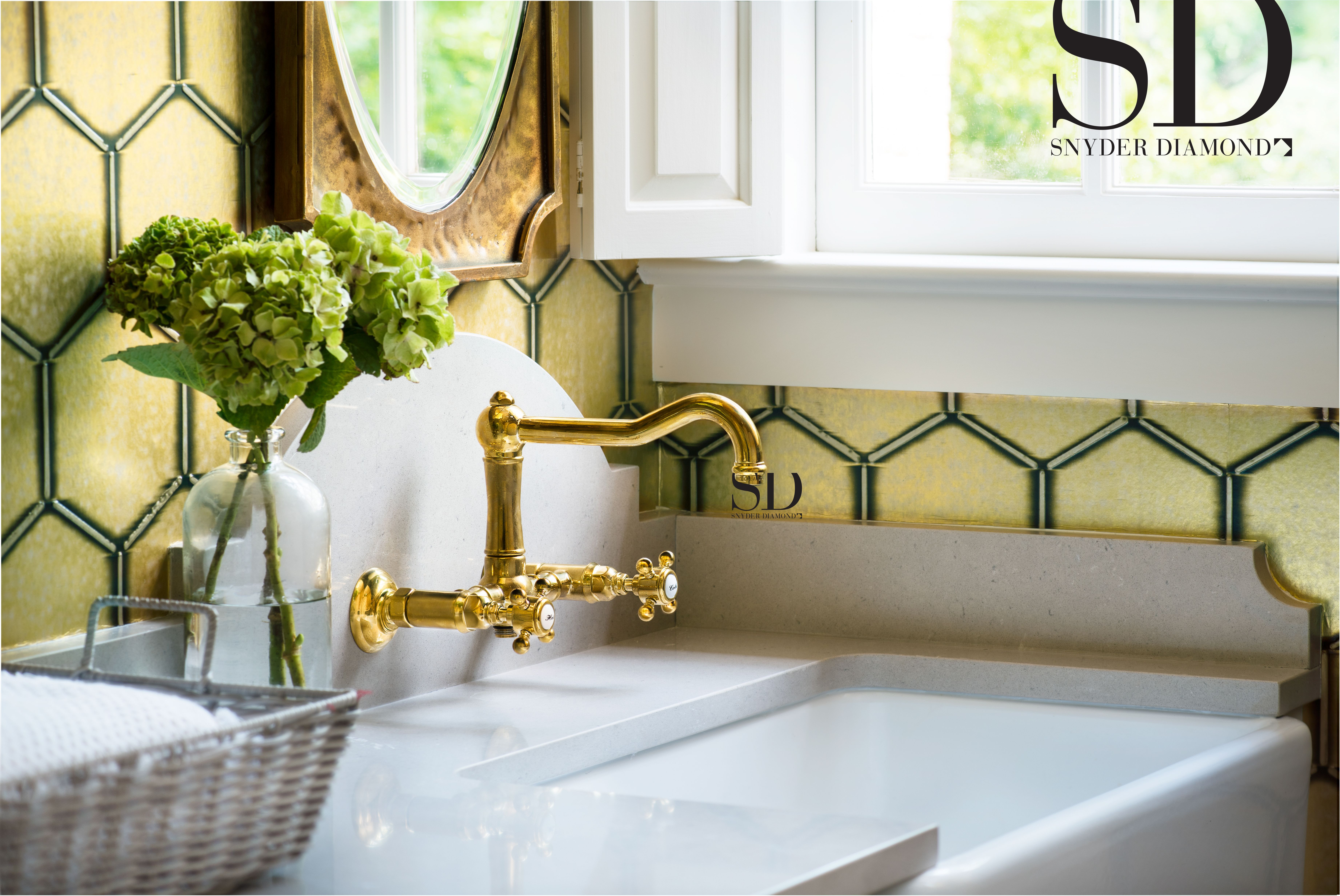 Designer Ad By Snyder Diamond Kitchensink Sinkfaucets Faucets