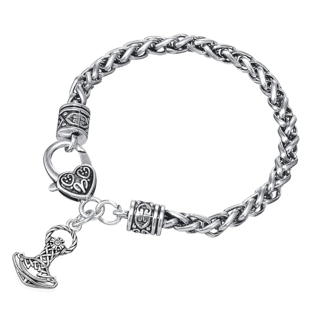 Vikings norse amulet bracelet for men vikings pinterest