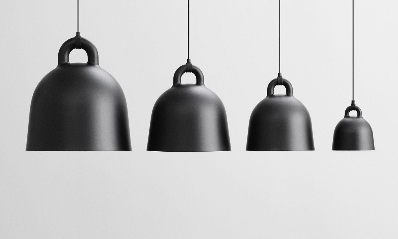 Normann Copenhagen Bell Lamp Black   Suspension Lights   Lighting