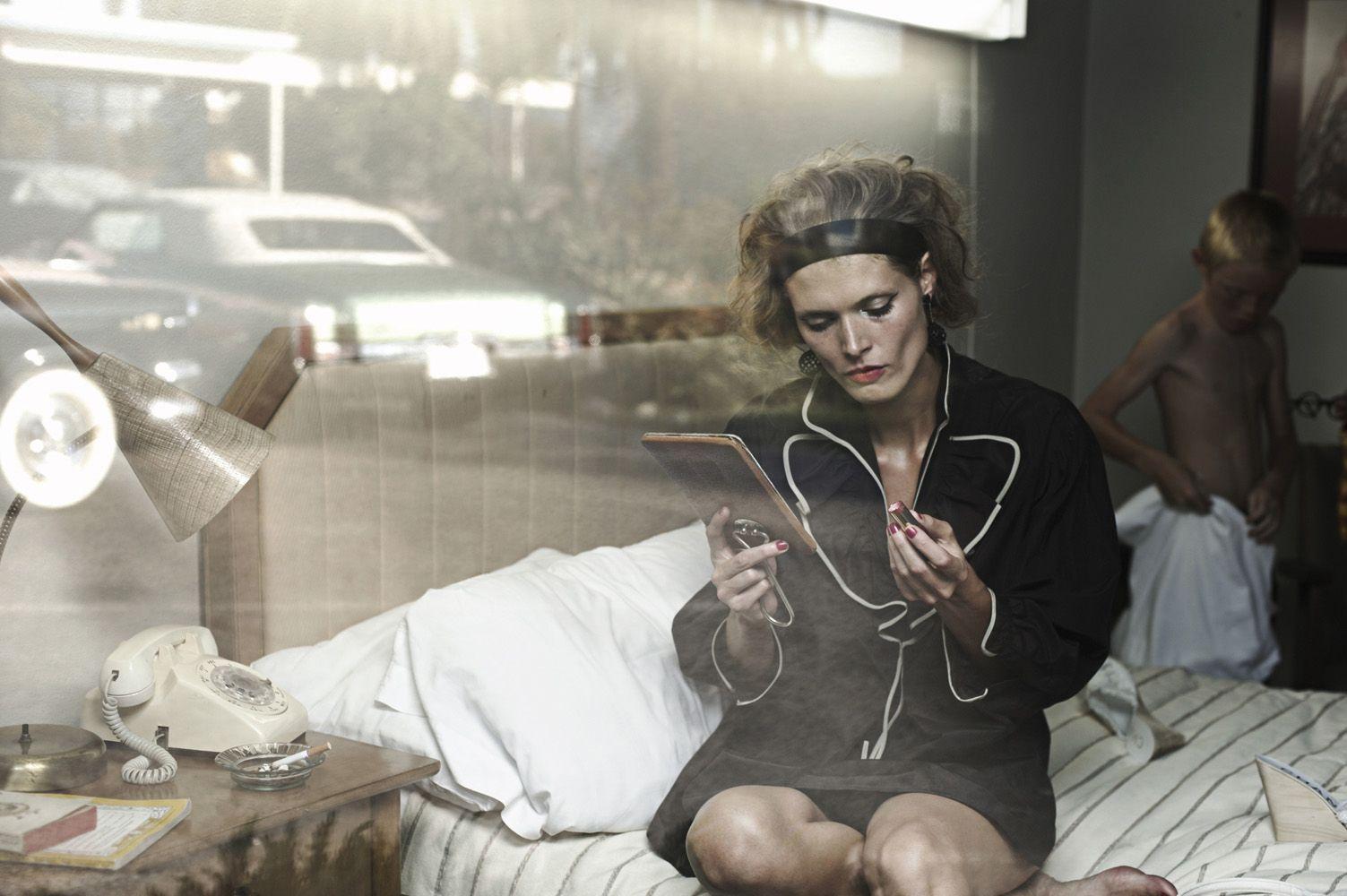 ☆ Malgosia Bela | Photography by Peter Lindbergh | For Vogue Magazine Italy | December 2008 ☆ #Malgosia_Bela #Peter_Lindbergh #Vogue #2008