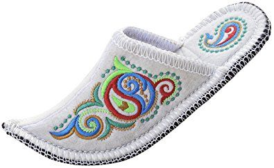 Curly Niece Handmade Boiled Wool House Slipper for Men and Women, Natural Felt, Bright Soft & Breathable Exclusive Indoor Shoes Review