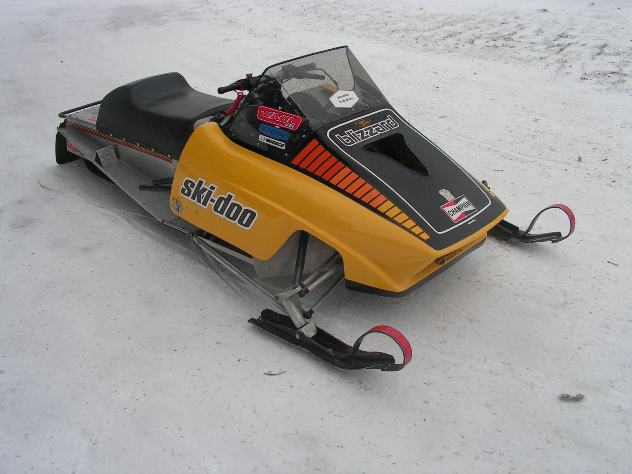 how to build ice drag sled