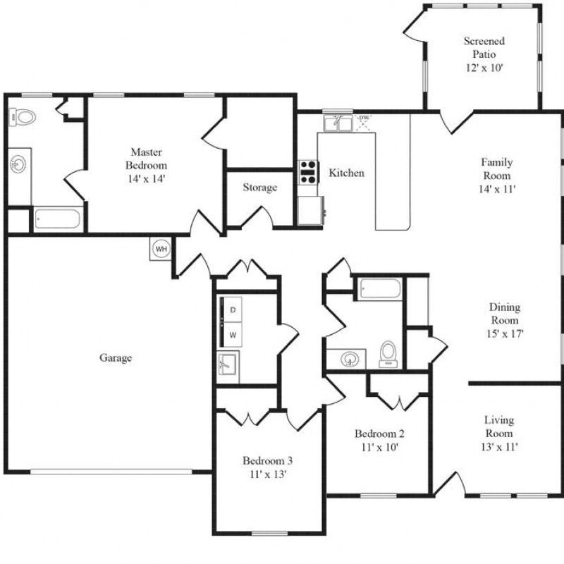 Beaufort Floor Plans Lincoln Military Housing Camp Pendleton Base Housing