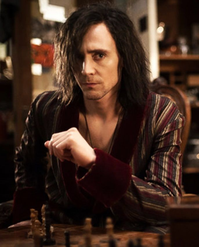 Tom Hiddleston (From: Only Lovers Left Alive).