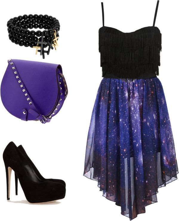 Galaxy! No to the purse AND bracelet. Switch them.