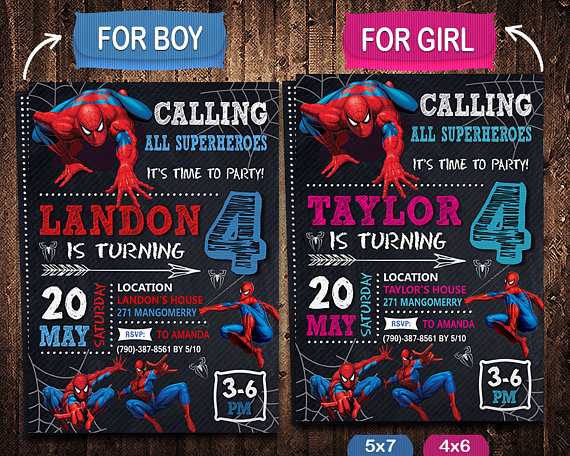 Spiderman invitation spiderman invite spiderman birthday spiderman invitation spiderman invite spiderman birthday spiderman party spiderman printable spiderman card spiderman digital stopboris