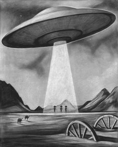 vintage ufo posters - Google Search
