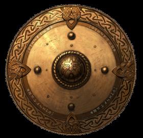 Gold Shield Viking Shield Vikings Varangian Guard
