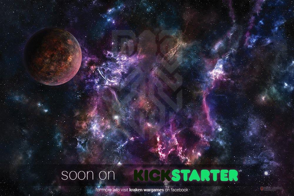 Kraken Wargames Launching Soon With Range Of Gaming Mats Kraken Wargaming Deep Space