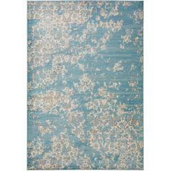 Photo of benuta Teppich Velvet Blau 160×230 cm – Vintage Teppich im Used-Look benuta