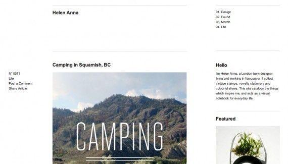Helen Anna Web Design Web Design Inspiration Anna