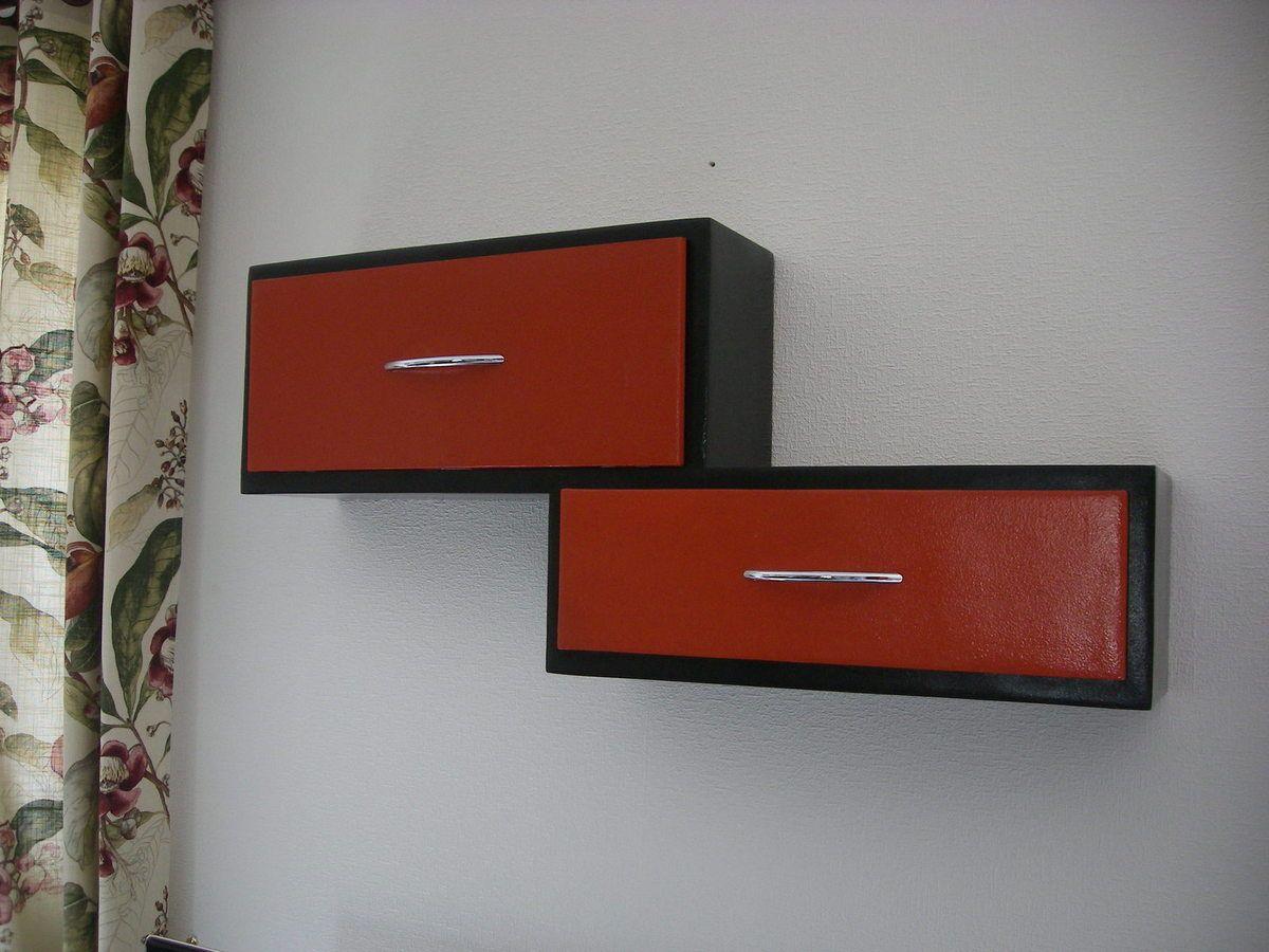 Des Tiroirs Sur Mesure En Carton Recycl Pour Optimiser Le  # Tutoriel Fixation Murale Meuble