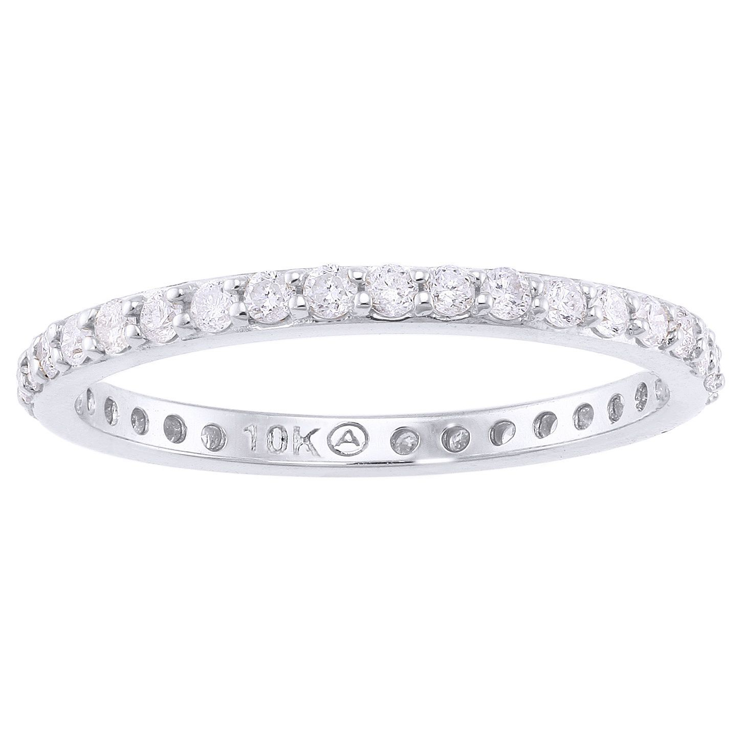 diamonds bands and rose products eternity set band gold bezel with in diamond