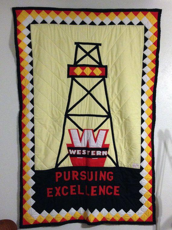 Vintage Western Oil Derrick Supply Company Eddie Chiles