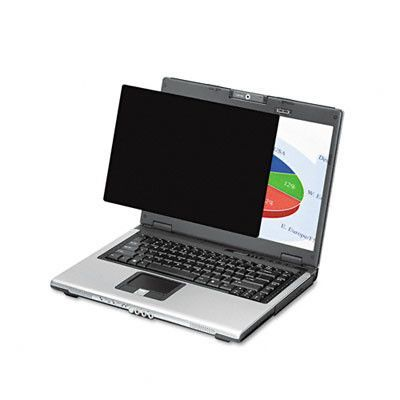 "Wide Black-Out Privacy Frameless Filter for 15.4"" LCD/Notebook"