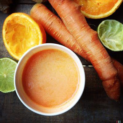 Ma cuisine à moi: jus de carottes au gingembre