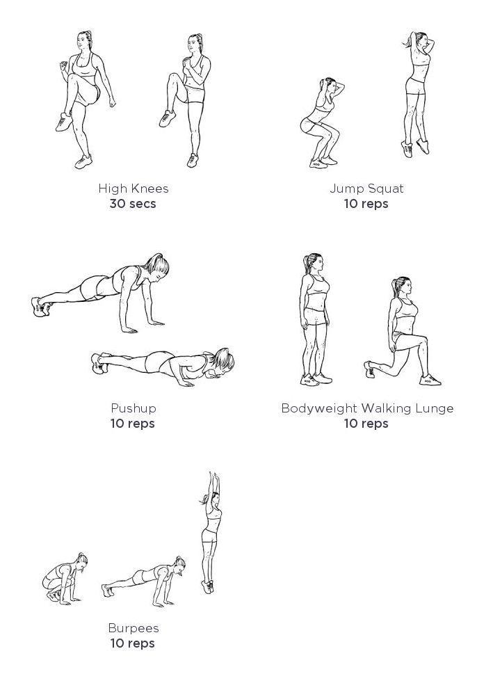 Soyez au meilleur de votre forme! | Échauffements