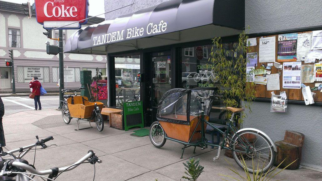 Six Bike Friendly Bars And Cafes Tandem Bike Bike Cafe