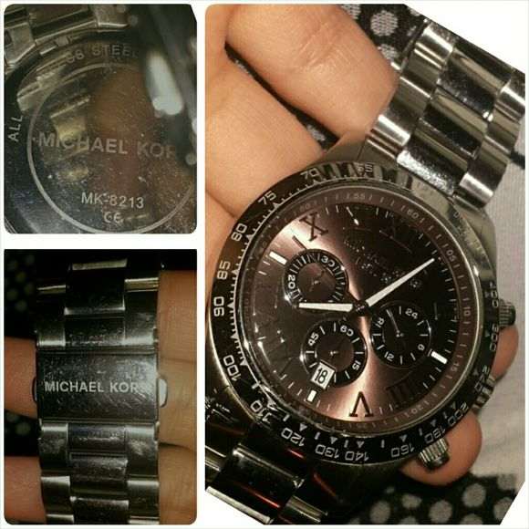 Michael Kors Men's Layton Michael Kors Men's Layton Chronograph Watch MK8213 in Excellent condition.  a few scratches but in Excellent condition Accessories