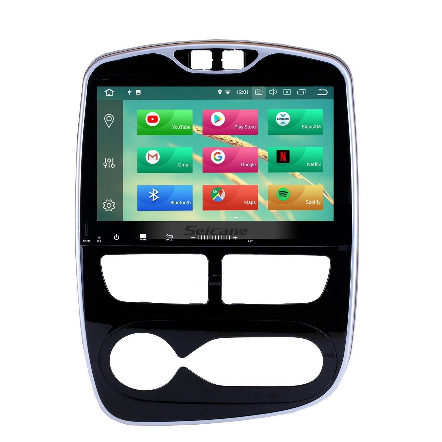 Seicane Android 8.0 10.1 Inch HD Touch Screen GPS