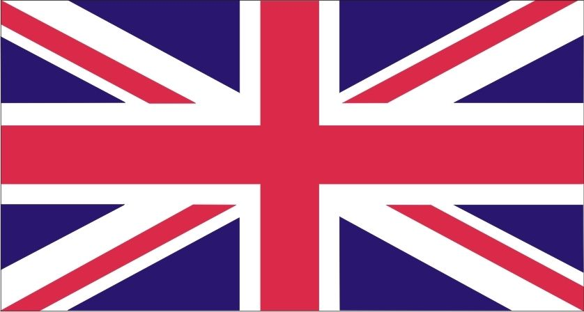 British Flag Union Jack Stencil Two Size Choices Britain Flag