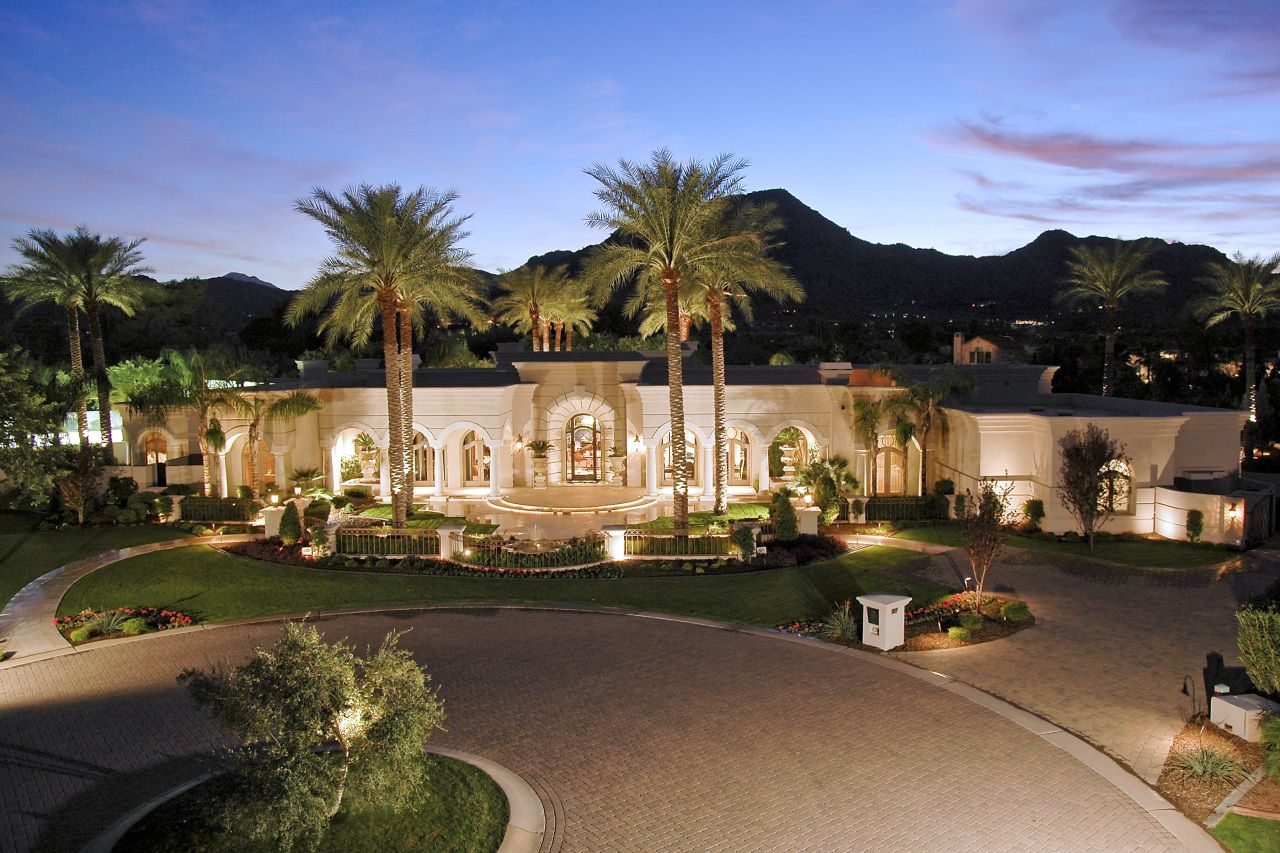 Expensive Houses In Arizona | Villaresi Paradise Valley | Paradise Valley  Homes For Sale