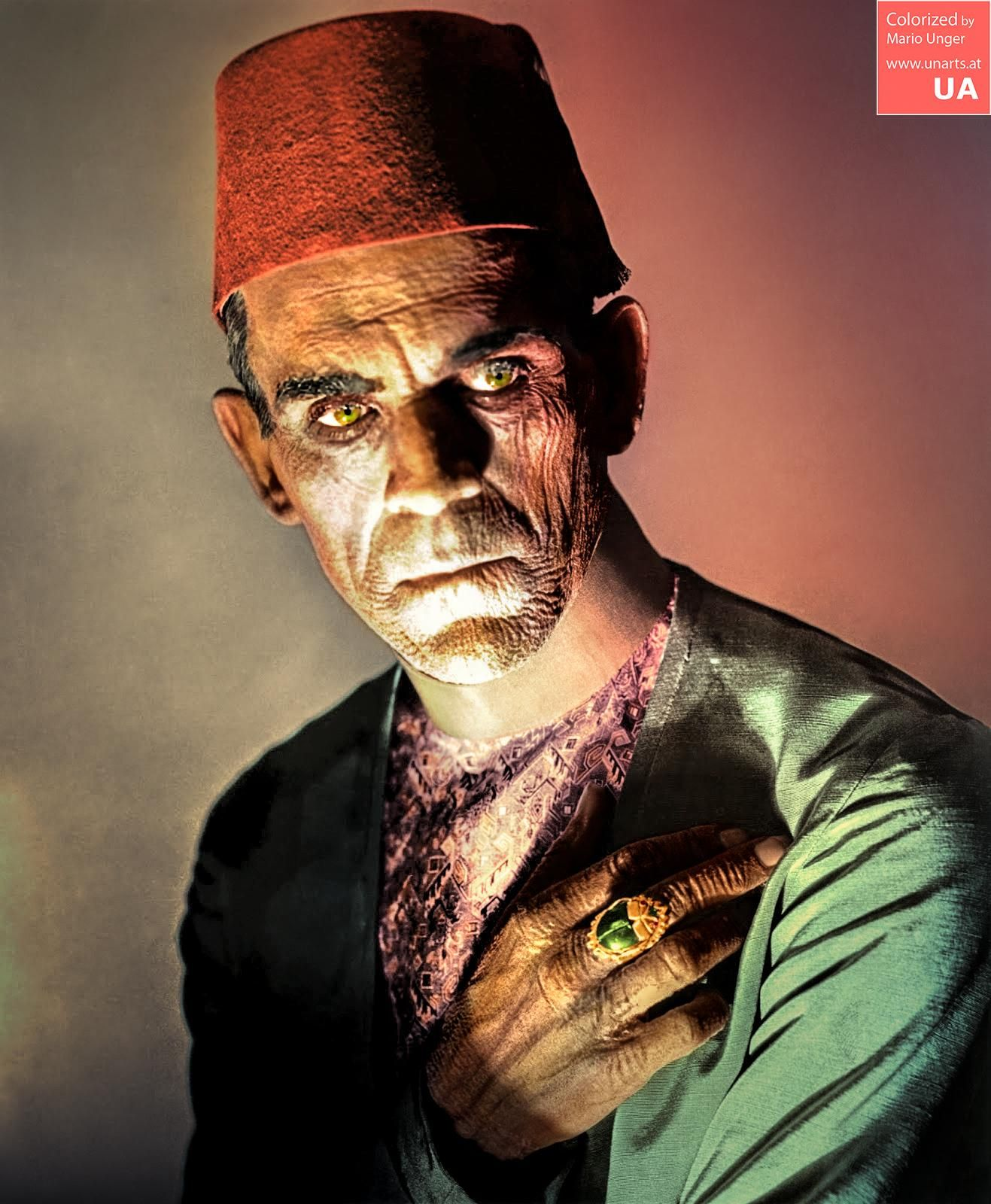 Boris Karloff As Imhotep In The Mummy 1932 With Images